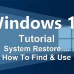 آموزش System Restore در ویندوز 10