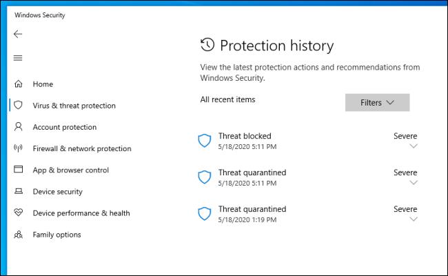 آموزش کار با Windows Defender در ویندوز ۱۰